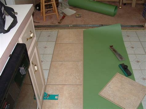 how to install laminate flooring over ceramic tiles