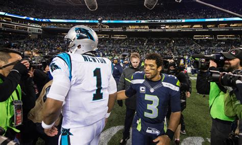 panthers tied  seahawks    super bowl
