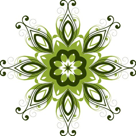 flower designs clipart flourish flower design 12