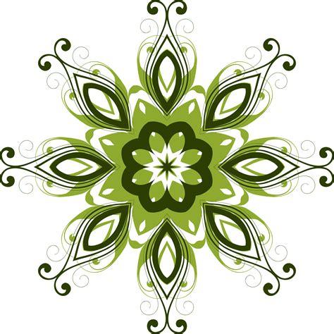 design flowers clipart flourish flower design 12