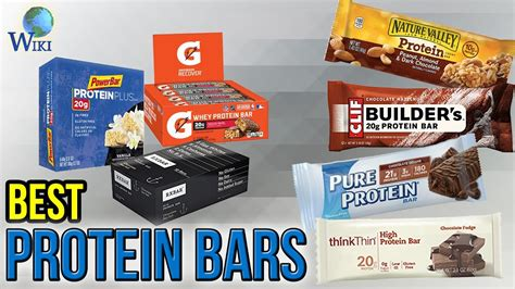 top 10 best protein bars 10 best protein bars 2017