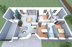 plan 3d d39un de nos modeles de maison avec 4 chambres un With marvelous modele de maison en l 6 maison neuve