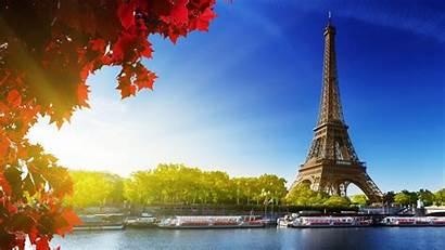 Paris France Eiffel Tower Autumn Lovin There