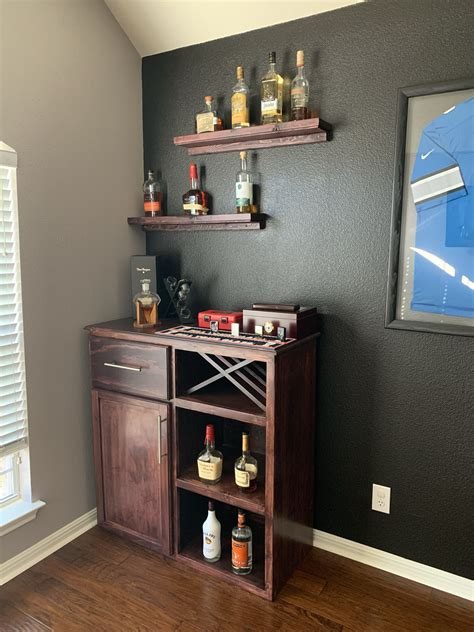 Imageposted in interiortagged coffee, design, studioyanby admin. Small bar I made for a friend. | Diy home bar, Kitchen bar design, Home bar designs