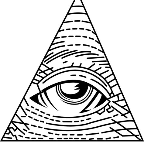 Illuminati coloring, Download Illuminati coloring