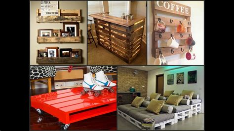 recycled wood pallet projects diy ideas youtube