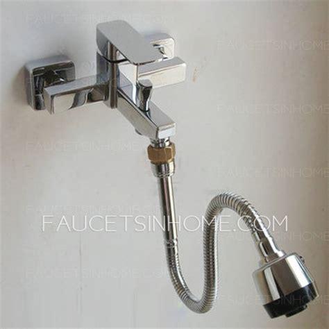 kitchen sink faucet extender chrome brass extension of faucet with spout 5780