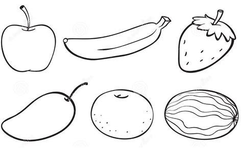 gambar mewarnai buah buahan