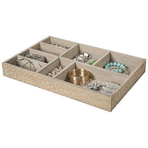 jewelry drawer organizer 8 section jewelry tray drawer organizer storage tray