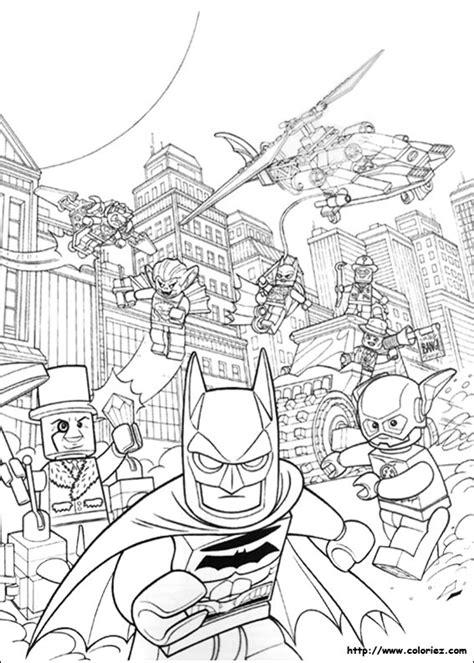 coloriage lego batman