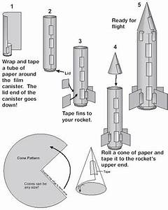 nasa paper rockets page 2 pics about space With paper stomp rocket template