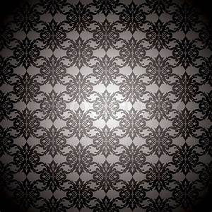 Sexy black and silver seamless repeating background design ...