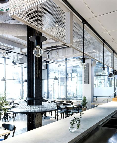 Minimalist Bar Design by Scandinavian Inspired Minimalist Restaurant Decor