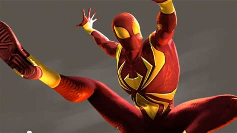 Iron Spider Suit  Amazing Spiderman Wiki Fandom