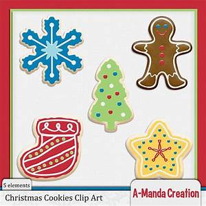 Christmas Cookies Commercial Use Clip Art