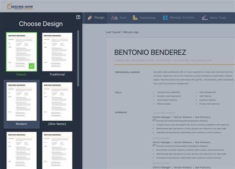 Resume Now Free by Free Resume Builder Resume Builder Resume Now