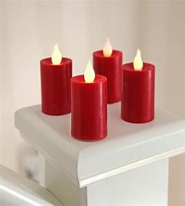 Flackernde Led Kerzen : 4er set led kerzen mit fernbedienung batterien flackernde flammenlose wachs ebay ~ Markanthonyermac.com Haus und Dekorationen