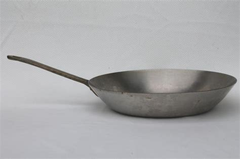 paul revere ware saute pan brass handle stainless steel cookware
