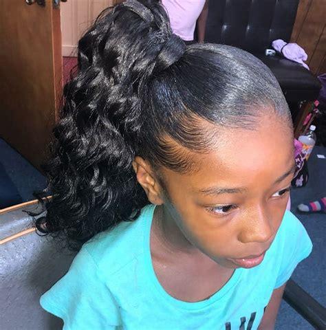 cutest ponytail hairstyles   black girls