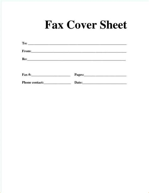 10 fax cover sheet pdf academic resume template
