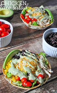 Chicken Taco Salad Dressing Recipe