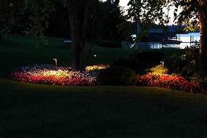 Landscape lighting about low voltage systems led