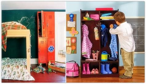 Free Simple Detail Ideas Kids Room Lockers