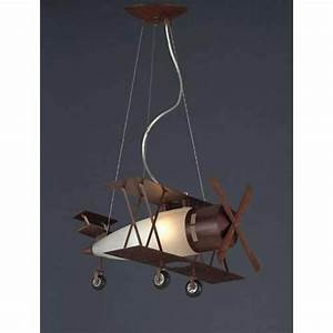 Biplane fighter satin nickel pendant elk lighting other