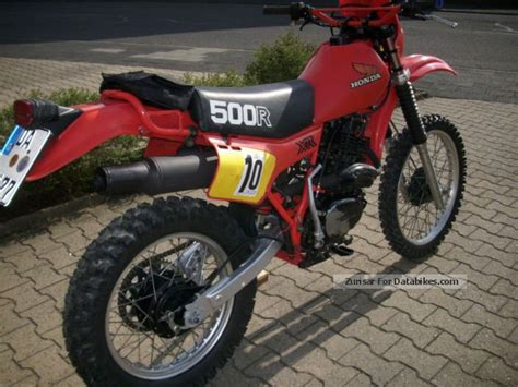 1981 Honda Classic Enduro Xr 500 R U.s. Model Year 1981
