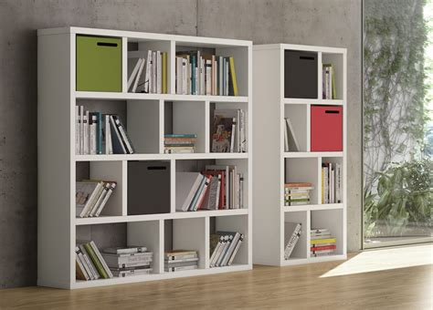stylish beds caixa contemporary bookcase modern bookcases