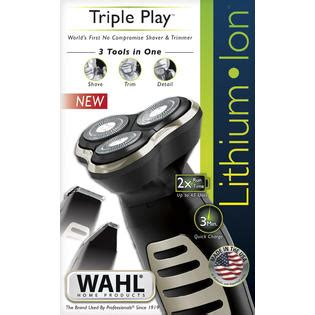 wahl clipper corp lithium ion shaver trimmer beauty shaving