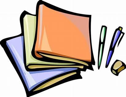 Clipart Homework Boeken Schoolwork Plaatjes Rugaciune Goga