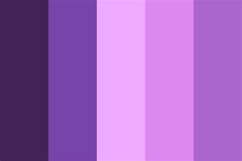 Purple Lake Color Palette