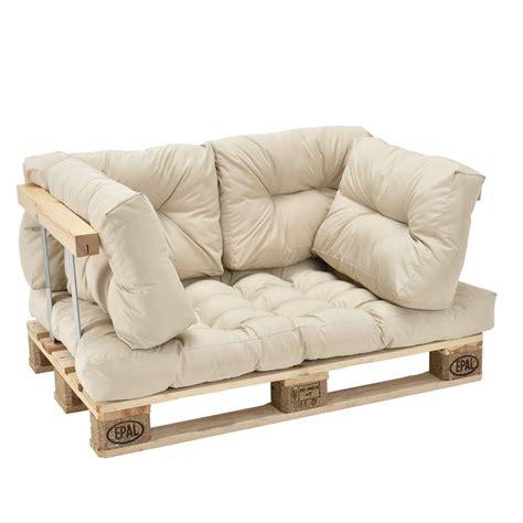 canapé d angle en palette en casa canapé d angle en palettes beige appui 2 places