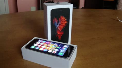 caracteristique iphone 5 iphone 6s unboxing