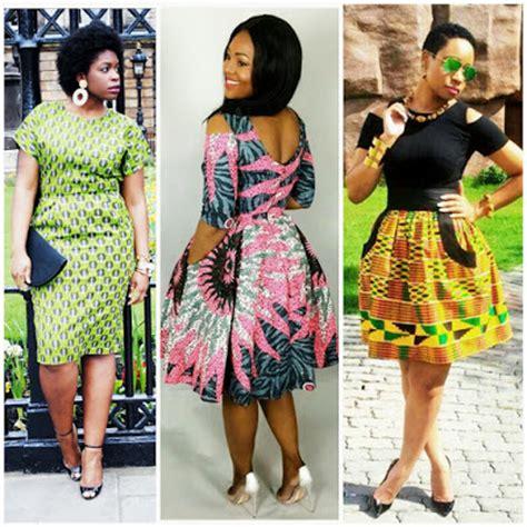short ankara kitenge styles africa fashenista
