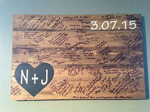 best 25 wedding pallet signs ideas only on pinterest With rustic wedding guest book ideas