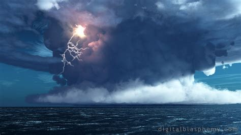 Wallpaper Iphone Digital Blasphemy by Digital Blasphemy 3d Wallpaper Thunderhead By Bliss