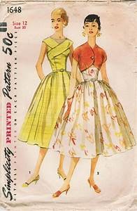 Simplicity 1648 - Vintage Sewing Patterns