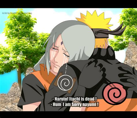 Naruto and Nayumi itachi is dead by Sarah927Artworks on DeviantArt
