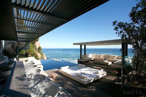 contemporary seaside villa  cape town idesignarch