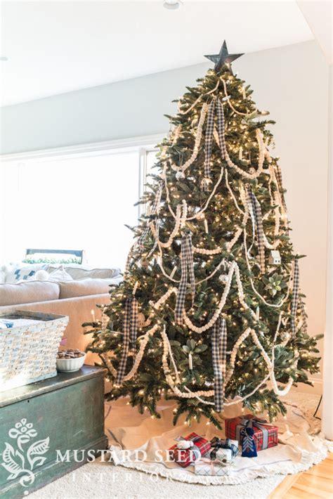 classic country christmas tree christmas tree