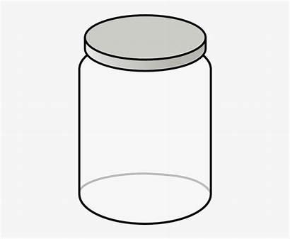 Empty Clipart Jar Bottle Clip Clear Transparent