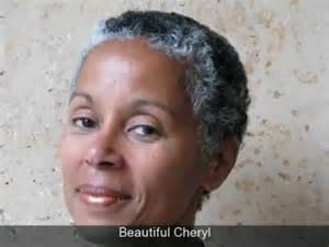 Salt and Pepper Hair On Black Women
