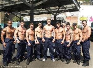 Dan Osborne joins Dreamboys strippers for charity car wash ...