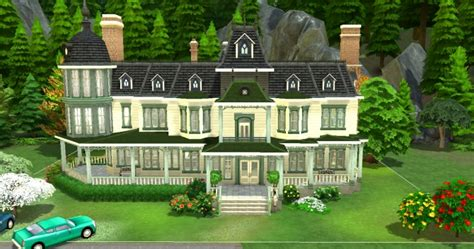 Locke And Keys Manor By Valbreizh At Mod The Sims Sims 4