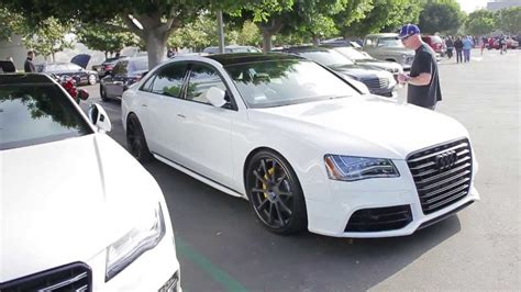 Modified Audi S8 Walk-around At Cars & Coffee, 2013!