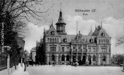 bureau de poste mulhouse cartes postales anciennes de mulhouse 68100 actuacity