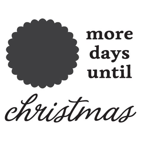 chalkboard days  christmas wall quotes decal