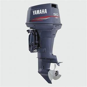 Yamaha Outboard 90hp  90 Hp  2